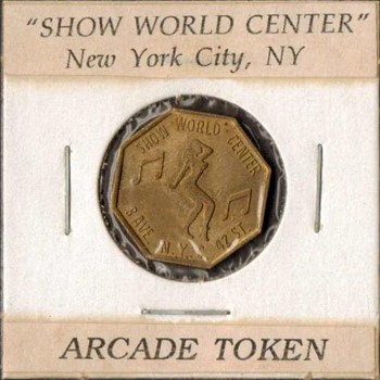 "New York City ""Peep Show"" Token"