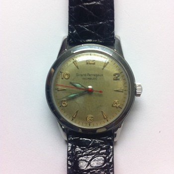 Vintage Girard-Perregaux Watch -- Model? Date? Value?