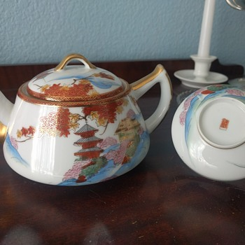 Help with Japanese tea set