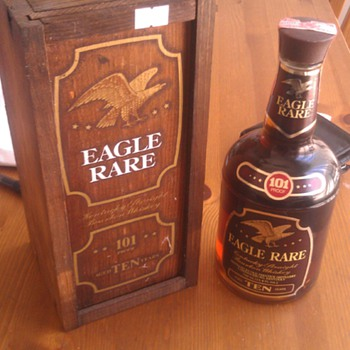Eagle Rare 101 Proof 10 Year Bourbon Whiskey Mint With Box - Bottles