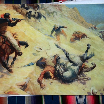Old Wild West Print