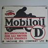 Four Gargoyle Mobiloil Signs!
