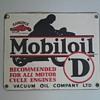 Four Gargoyle Mobiloil Signs!