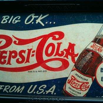 Pepsi Cardboard sign - Signs