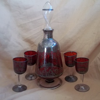 Vintage Wine Decanter 