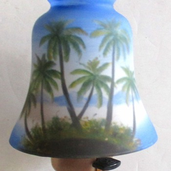 RUCKL DECO EXPORT  TROPICAL SCENE SHADE