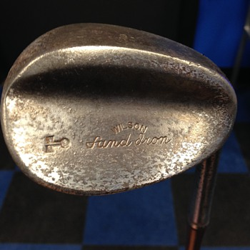 Looking for info on ths old wilson sand iron - Sporting Goods