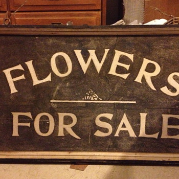 Flowers for Sale - Advertising