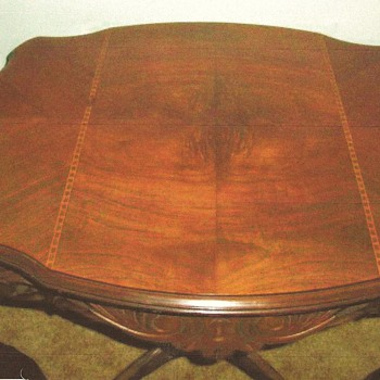 "Antique Table 24"" x 24"" x 30"""