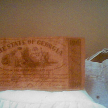 civil war bank bond - US Paper Money