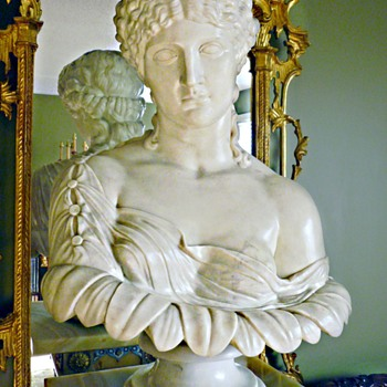 Clytie, Also Called Clytemnestra, Marble bust, 1870, Skinner Auctions, Boston  - Victorian Era