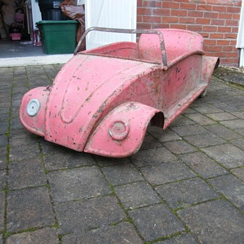Old german pedal car vw?
