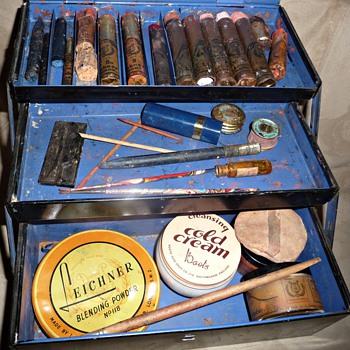 vintage leichner stage make-up
