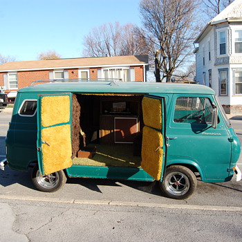 1963 Ford party van