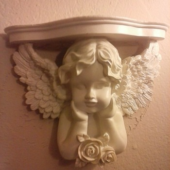 Angel Shelf. - Art Pottery
