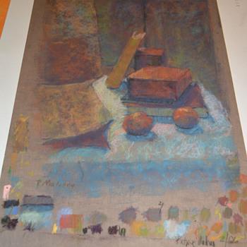 Pastel Chalk Painting