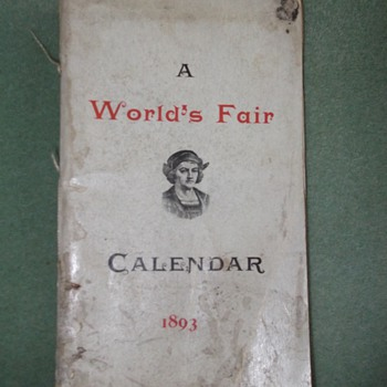 1893 World&#039;s Fair Book - Books