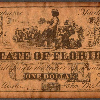 Confederate Currency - Novelty Note (Florida)
