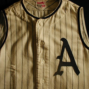 "My Vintage Kansas City Athletics Baseball ""Vest"" Jersey - Baseball"
