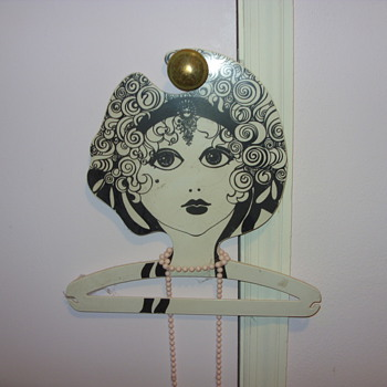 old victorian clothes hanger - Victorian Era