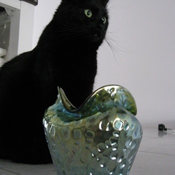Loetz Diaspora Vase  - Art Nouveau