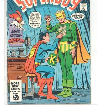 SUPERBOY COMIC