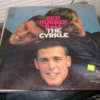 THE CYRKLE RED RUBBER BALL COLUMBIA RECORD CS 9344 - Records