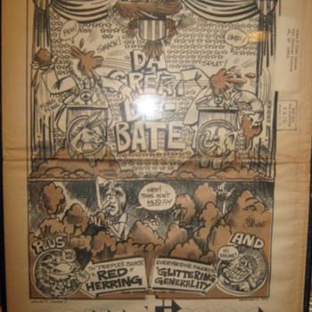 John Lennon owned newspaper-1972 - Music Memorabilia