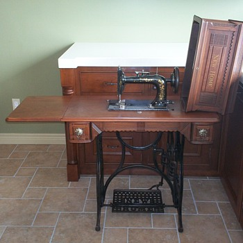 1891 New Home Sewing Machine