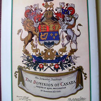 [ One for Phil ] 1948 - ENCYCLOPEDIA of CANADA (Volume I) - Books