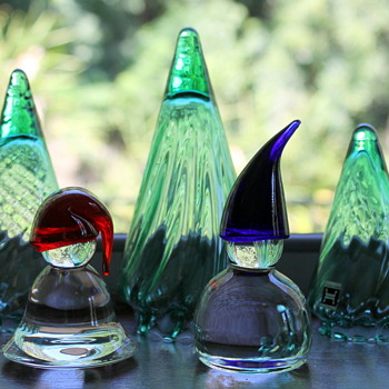 You can't have Christmas without glass - Art Glass