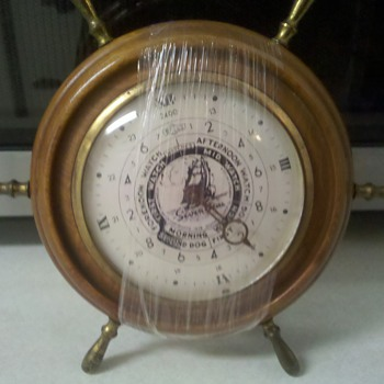 Seven Seas E Ingraham Nautical watches Clock