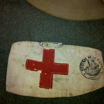 WWI Ambulance Corps grouping #3 - Military and Wartime