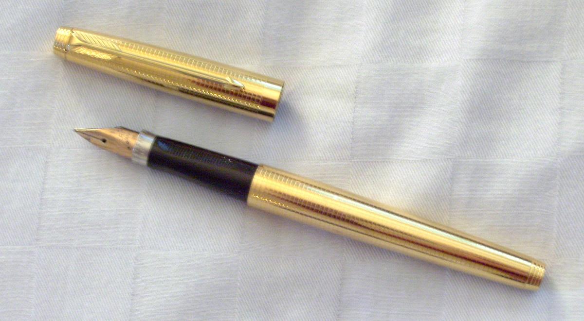 Vintage Parker 75 u0026quot;Ciseleu0026quot; Pen : Collectors Weekly