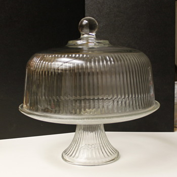 Clear Glass Cakestand