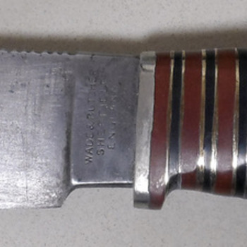 Interesting old  knife  - Tools and Hardware