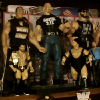 Wrestling action figures