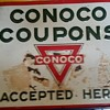 1940's Conoco sign