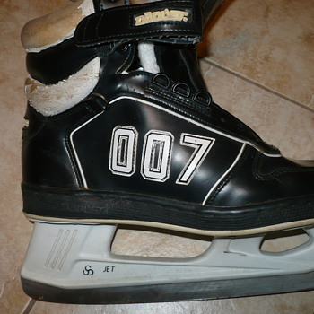 Unusual Pair of Skates