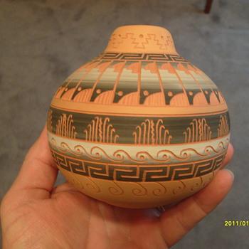 Navajo Pottery - Native American