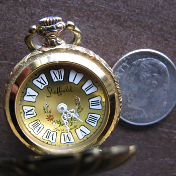 Small, Swiss Made, Sheffield pocket Watch - Pocket Watches