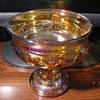 Carnival Glass Candy Bowl ?