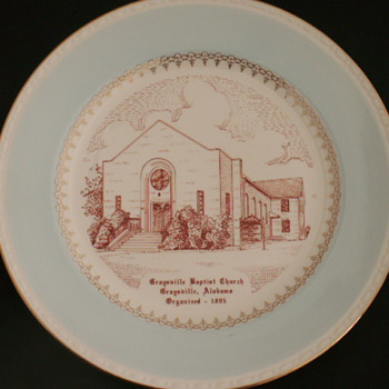 Church Plate, Graysville, Alabama - China and Dinnerware