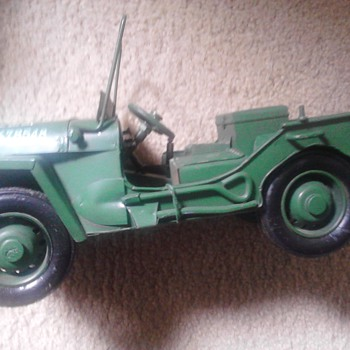 Jeep Tin Toy