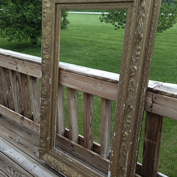 Antique layered frame  - Visual Art