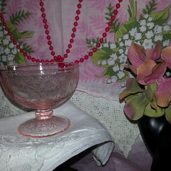 Pretty Pink Sherbet - Glassware