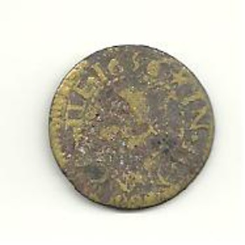 1650's coin unknown to me.