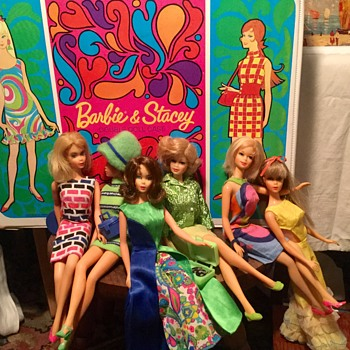 Vintage Barbie 1967 & 1968 - Dolls