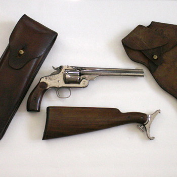 "S&W ""Australian Colonial Police"" Revolver - Military and Wartime"