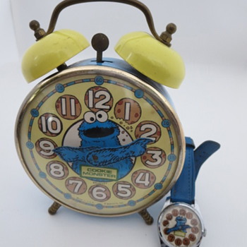 Cookie Monster Watch & Alarm Clock